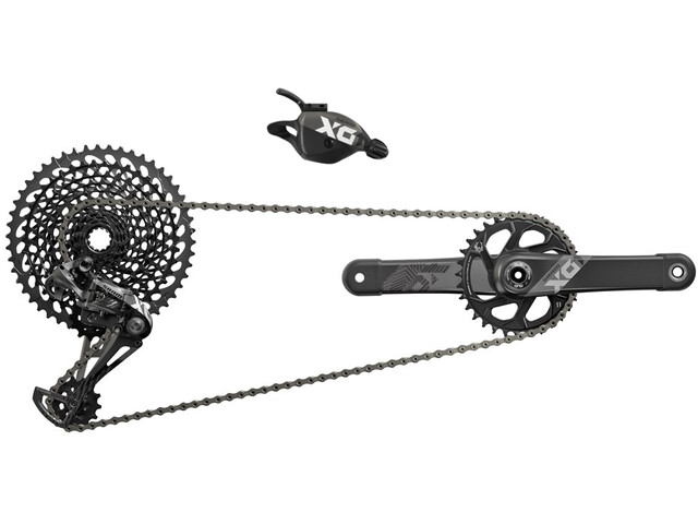 SRAM X01 Eagle - Piezas para bicicletas - 1x12 DUB 32Z. 170mm negro